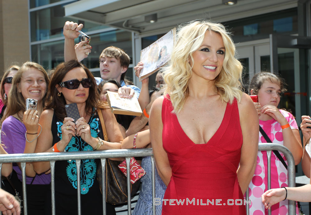 X-Factor Providence auditions - Britney Spears